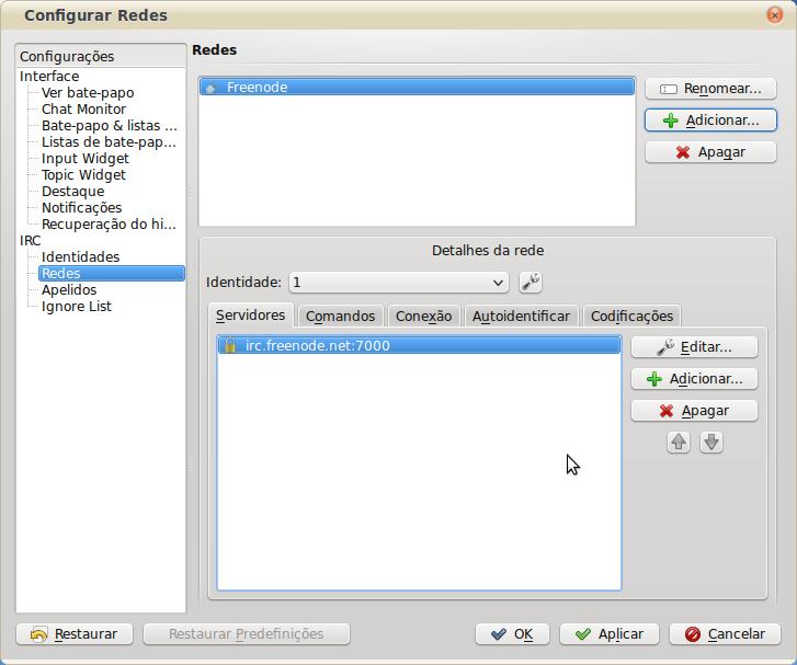 Quassel-Configurar_Redes