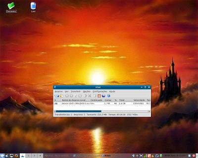 Baixando Debian
