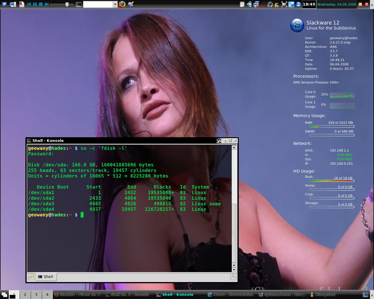 Slackware KDE II