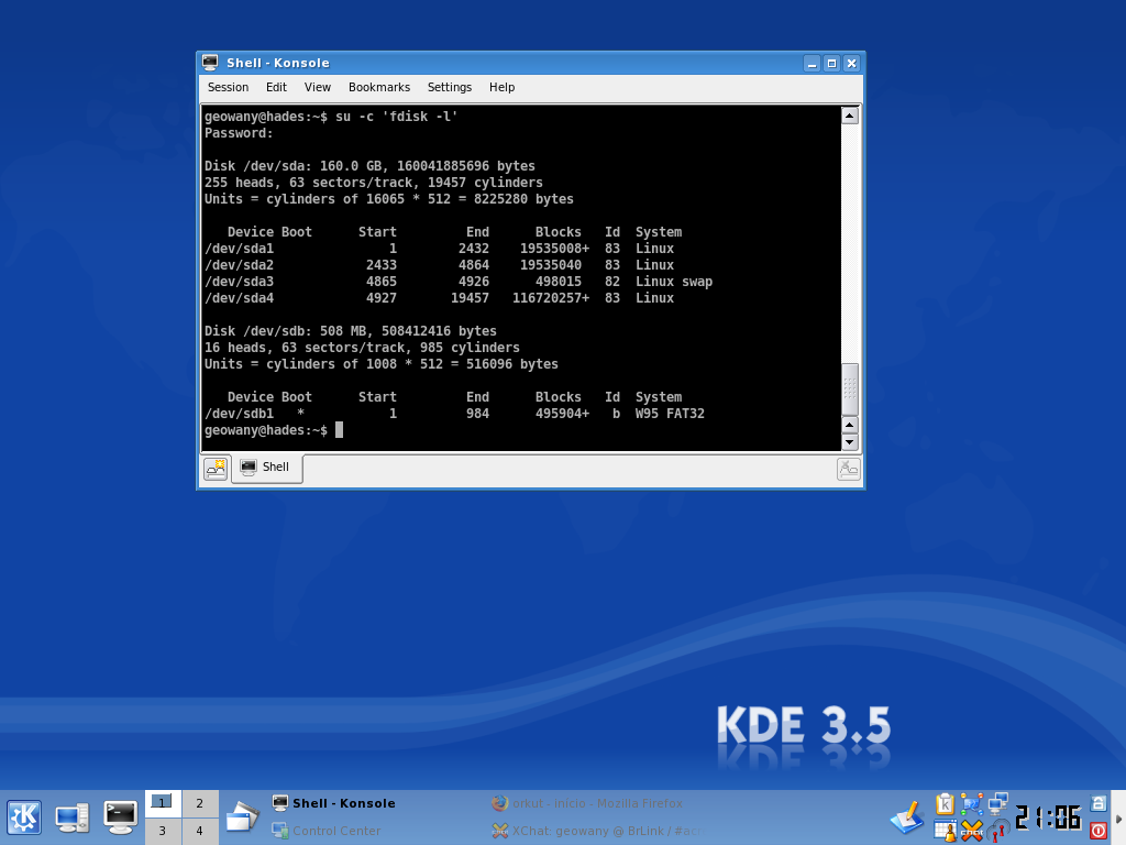 Slackware KDE